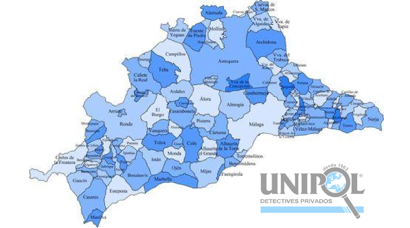 Detectives Unipol Provincia de Málaga